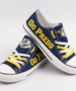 Nashville Predators Limited Low Top Canvas Shoes Sport