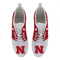 Nebraska Cornhuskers Customize Low Top Sneakers College Students