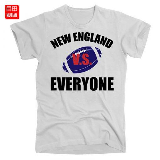 New England Vs Everyone T Shirt Patriots fan Funny Football Sports verse Everyone New England Football 1