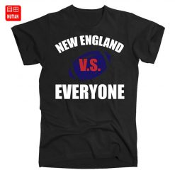 New England Vs Everyone T Shirt Patriots fan Funny Football Sports verse Everyone New England Football