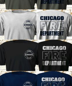 New Tv Series Chicago Fire Department Fire Rescue Multicolor T Shirt S 3Xl