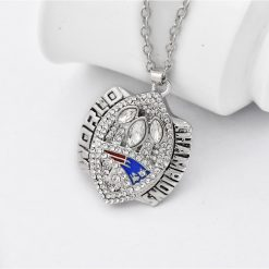 New England Patriots Championship Necklace