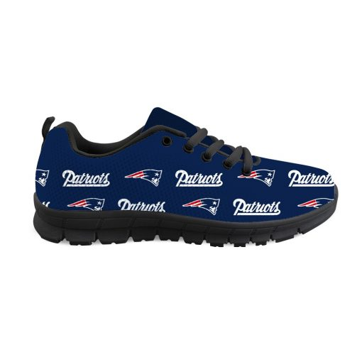 New England Patriots Custom 3D Print Running Sneakers