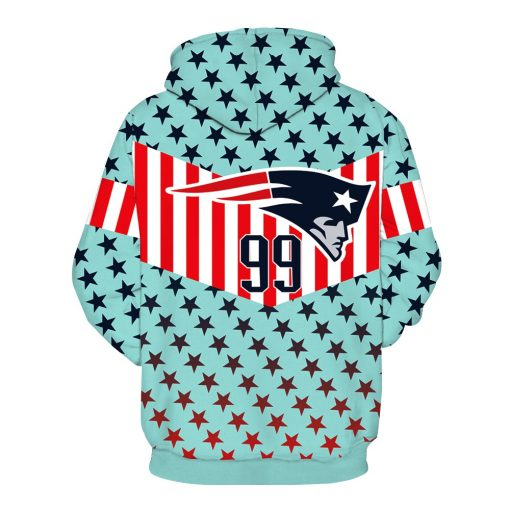New England Patriots Football Fans Hoodies