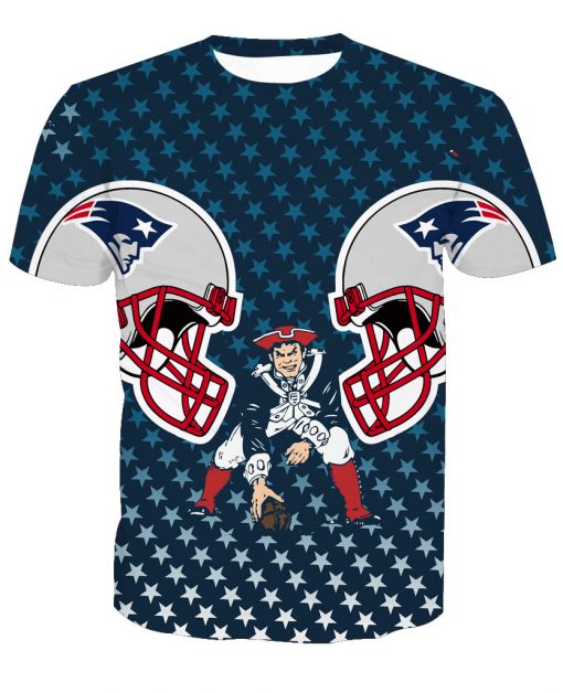 New England Patriots Football Fans Casual T-shirt