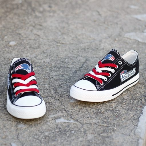 New England Patriots Low Top Canvas Shoes Sport