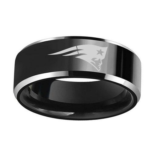New England Patriots Tungsten Rings