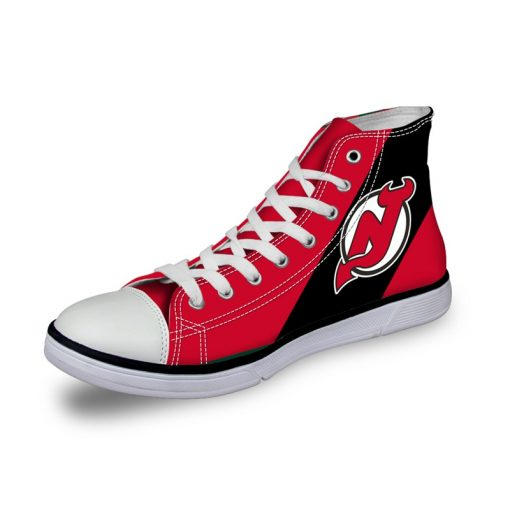 New Jersey Devils 3D Casual Canvas Shoes Sport