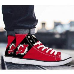 New Jersey Devils 3D Casual Canvas Shoes Sport