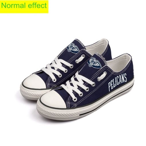 New Orleans Pelicans Limited Luminous Low Top Canvas Sneakers