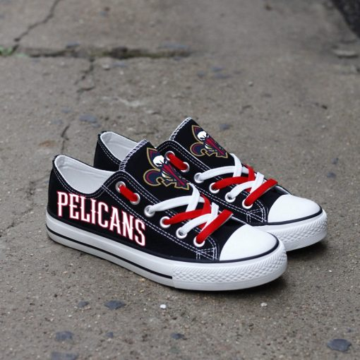 New Orleans Pelicans Low Top Canvas Shoes Sport