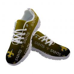 New Orleans Saints Custom 3D Print Running Sneakers