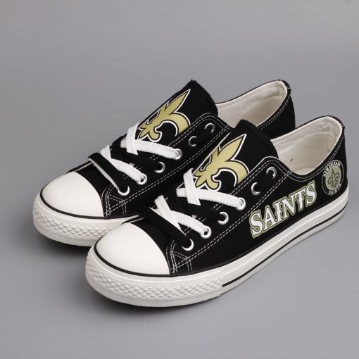 New Orleans Saints Limited Low Top Canvas Sneakers