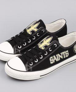 New Orleans Saints Limited Low Top Canvas Shoes Sport