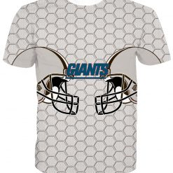 New York Giants Football Fans Casual T-shirt