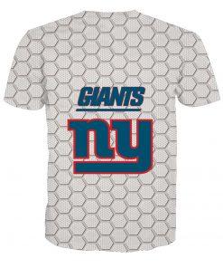 New York Giants Football Fans Casual T-shirt