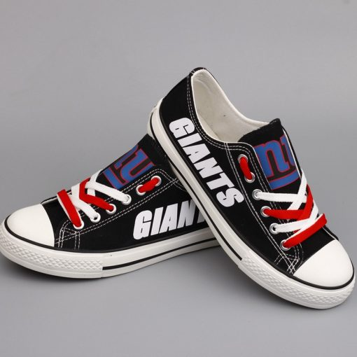 New York Giants Limited Low Top Canvas Shoes Sport