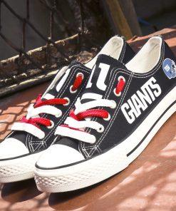New York Giants Low Top Canvas Sneakers
