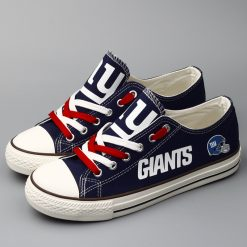 New York Giants Low Top Canvas Shoes Sport