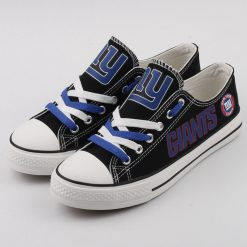 New York Giants Limited Fans Low Top Canvas Sneakers