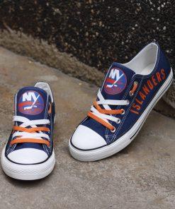 New York Islanders Limited Low Top Canvas Sneakers