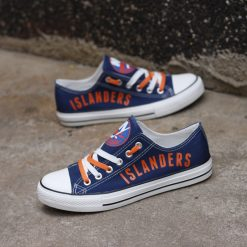 New York Islanders Limited Low Top Canvas Sneakers