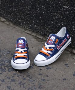 New York Islanders Limited Low Top Canvas Shoes Sport