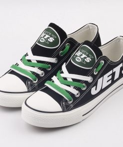 New York Jets Limited Low Top Canvas Sneakers