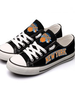 New York Knicks Low Top Canvas Shoes Sport