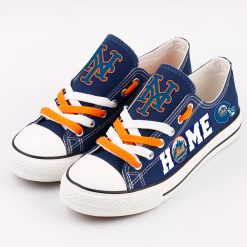 New York Mets Low Top Canvas Sneakers