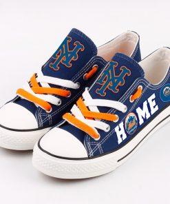 New York Mets Low Top Canvas Sneakers