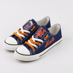 New York Mets Limited Low Top Canvas Sneakers