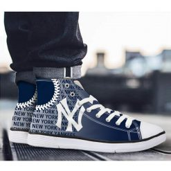 New York Yankees Casual Canvas Shoes Sport
