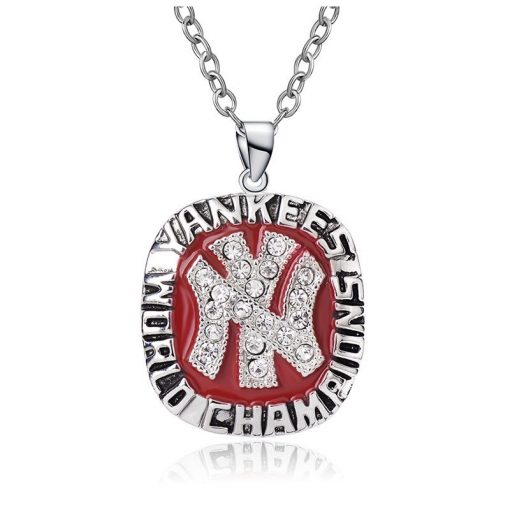 New York Yankees Championship Necklace