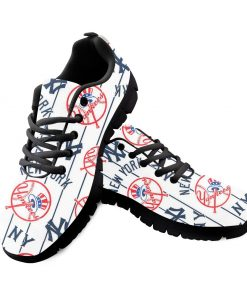 New York Yankees Custom 3D Running Shoes