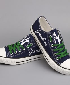New York Yankees Limited Low Top Canvas Sneakers