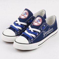 New York Yankees Low Top Canvas Shoes Sport