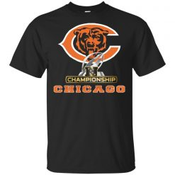 Nfc North Chicago Bear Team T Shirt Black Navy For Mens Womens Size S 3Xl Loose