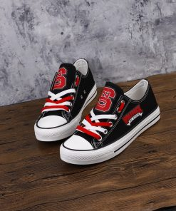 North Carolina State Wolfpack Limited Low Top Canvas Sneakers