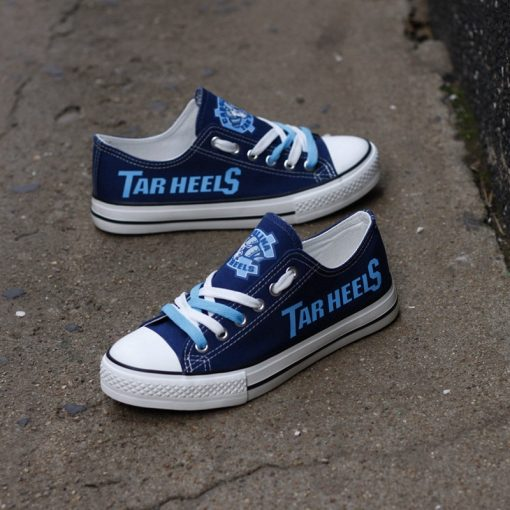 North Carolina Tar Heels Limited Low Top Canvas Shoes Sport