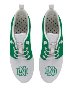 North Dakota Fighting Hawks Customize Low Top Sneakers College Students