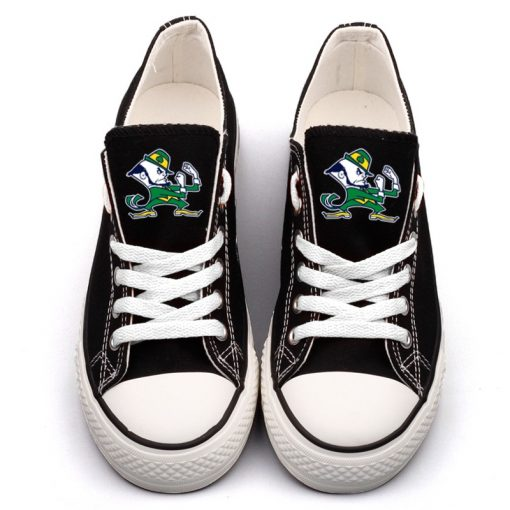Notre Dame Fighting Irish Limited Low Top Canvas Sneakers