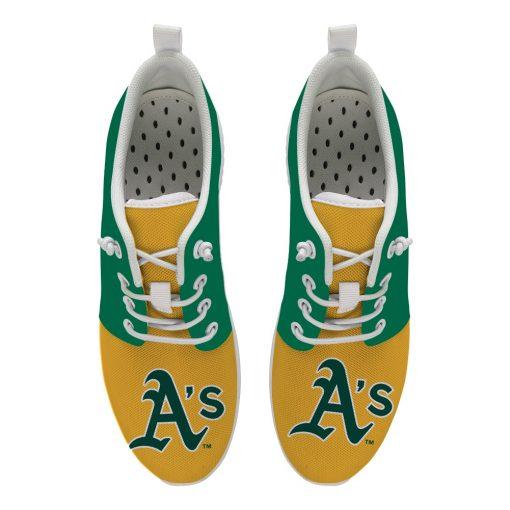 Oakland Athletics Custom Flats Wading Shoes