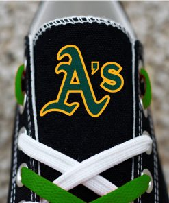Oakland Athletics Limited Low Top Canvas Shoes Sport Sneakers