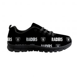 Oakland Raiders Custom 3D Running Shoes