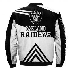 Oakland Raiders Fans Bomber Jacket Unisex