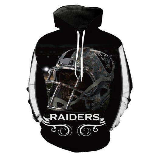 Oakland Raiders Football Fans Hoodies