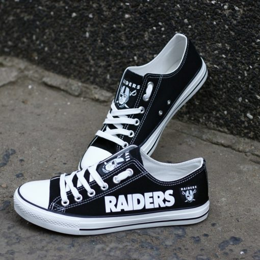 Raiders Limited Low Top Canvas Shoes Sport
