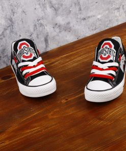 OhioStateBuckeyes Limited Low Top Canvas Shoes Sport