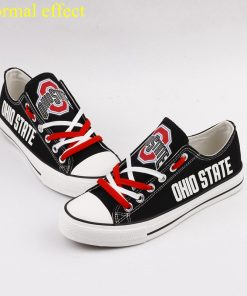 Ohio State Buckeyes Limited Luminous Low Top Canvas Sneakers